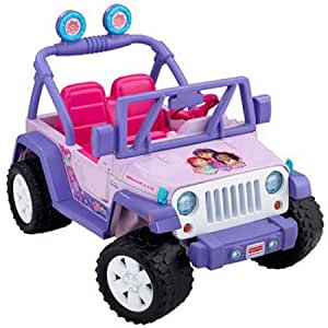 Amazon Com Fisher Price Power Wheels Dora And Friends