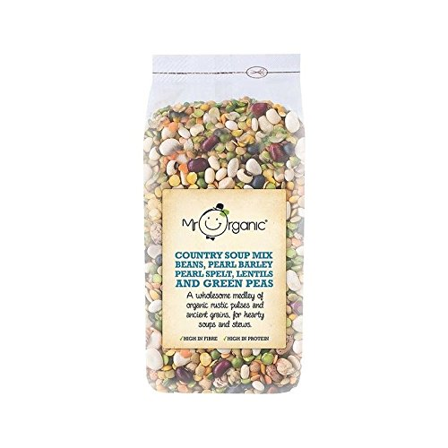 Mr Organic Country Soup Mix 500g - (Pack of 4)
