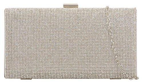 De Cartera Mujer Girly Mano Plata Handbags w05EA