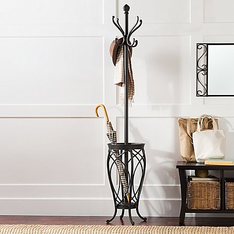 Ampersand Charleston Coat Rack (Black) by Ampersand
