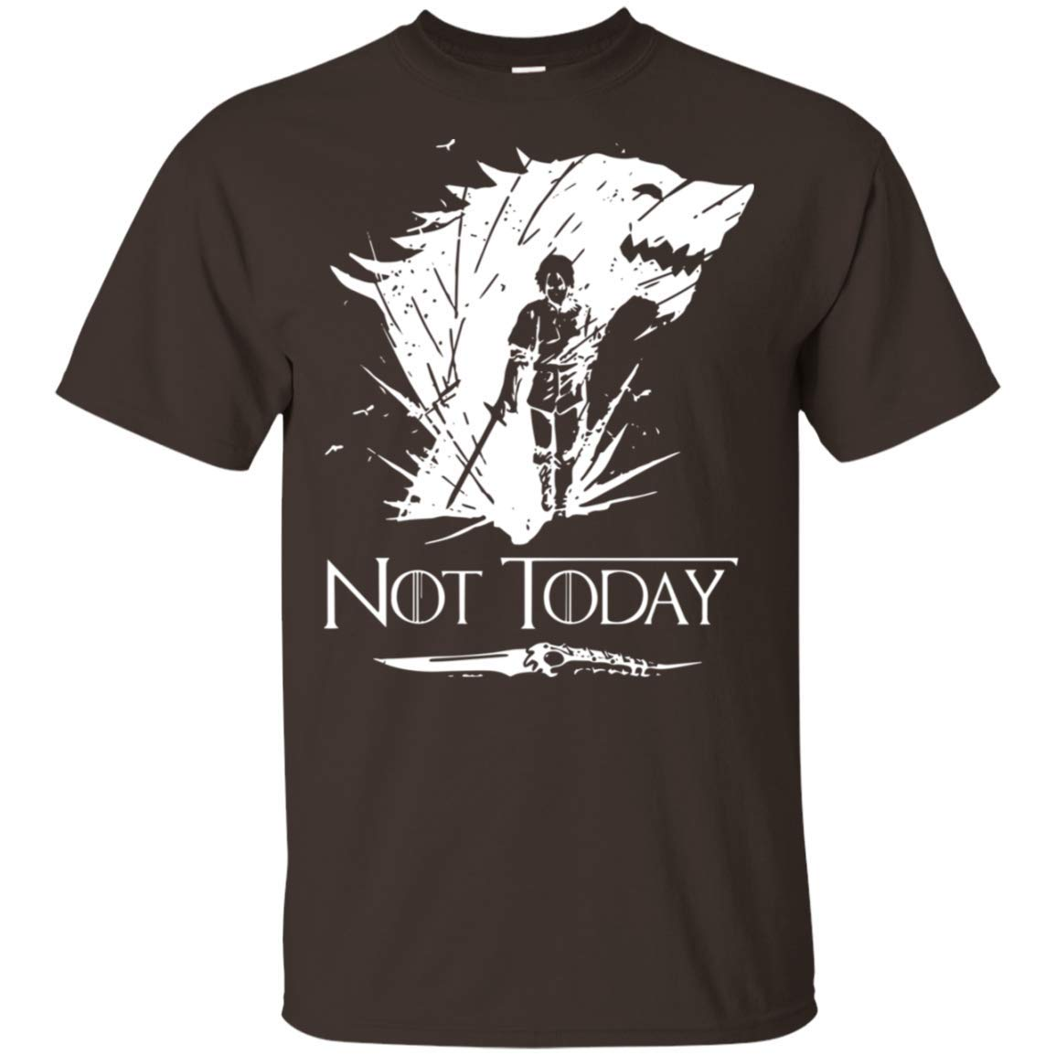 71272821 Amazon.com: Not Today Arya Stark T Shirt for Men Idea for Fan Love Game of  Thrones: Clothing