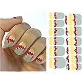 Arte de uñas: Calcomanías y autoadherentes Transferible con Agua K5711B Pegatina Tatuaje para Uñas Nail Sticker - FashionLife