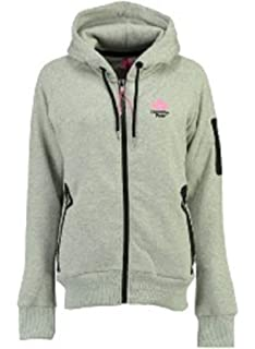 Canadian Peak - Sweat Femme Fabiola Gris  Amazon.fr  Vêtements et ... 0847fd9e32e