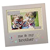 Juliana Me And My Brother Photo Frame Brushed Aluminium Collection