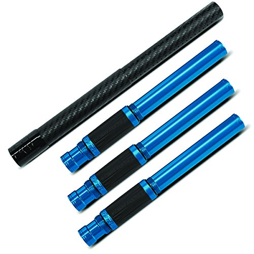 Planet Eclipse Shaft FL Carbon Fiber Barrel Kit - Blue - 4pc by Planet Eclipse