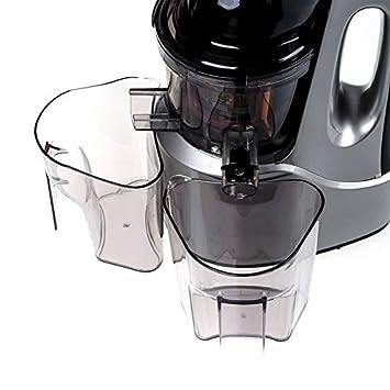 eldom Exprimidor de Baja Velocidad para Verduras y Frutas PJ1200 Juicer, 240W, Color Plata: Amazon.es
