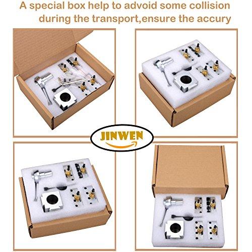 Jinwen 120018 Tooling Package Mini Lathe Quick Change Tool Post & Holders Multifid Tool Holder (Steel) by JINWEN (Image #5)