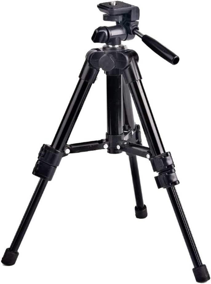 AKDSteel Mini Tabletop Aluminum A-lloy Tripod Mount for Camera Phone Photography Fishing Light