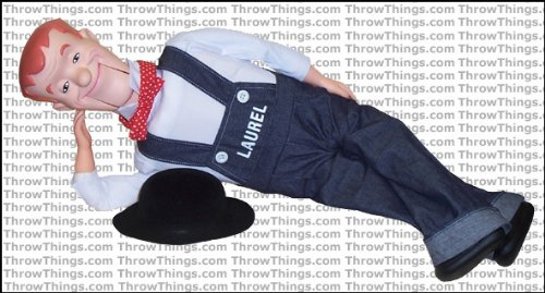 Stan Laurel Standard Upgrade Ventriloquist Dummy by ThrowThings.com