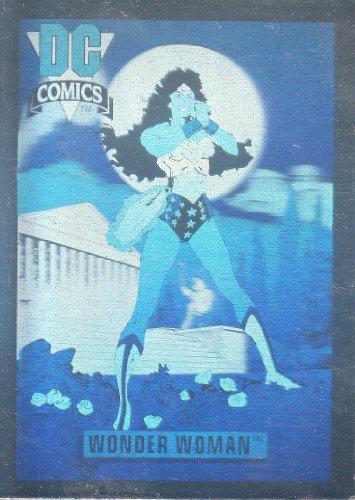 DC Comics Cosmic Cards Wonder Woman Trading Card Hologram #DCH9 (1992) by DC Comics