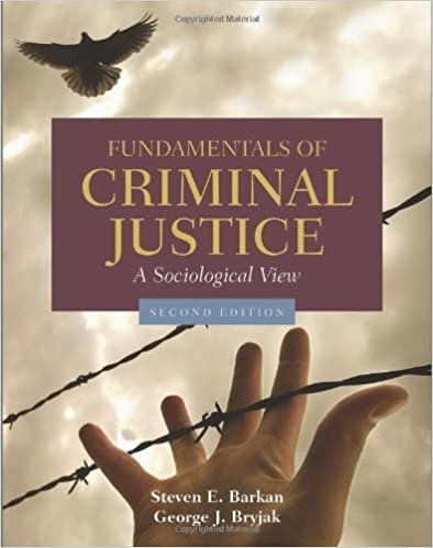 Book Fundamentals Of Criminal Justice: A Sociological View by Steven E. Barkan (2010-08-13)