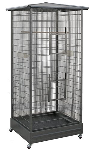 Exotic Nutrition Oriental Cage 66 Tall Cage For Sugar Gliders Squirrels Marmosets Other Small Pets