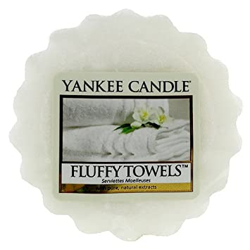 Yankee Candle Fluffy Towels Wax Tart: Amazon.co.uk: Kitchen & Home