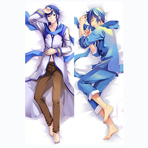 [Vicwin-One Vocaloid Family Kaito Pillowcase Cosplay(Size:19.6 in*59 in)] (Pillowcase Dress Costume)
