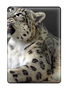 Fashion Protective Snow Leopard Pictures Case Cover For Ipad Air