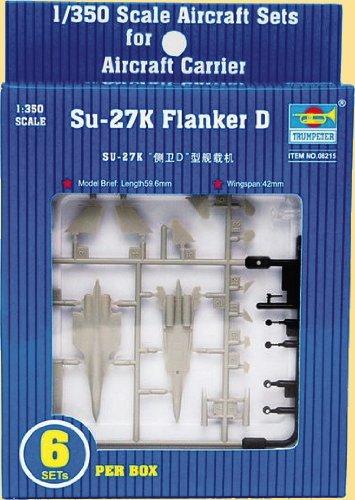 Su 27 Russian Air (Trumpeter Su-27K Flanker D Aircraft Set)