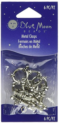 Blue Moon Plated Metal Toggle Clasps, Ball Gold, -