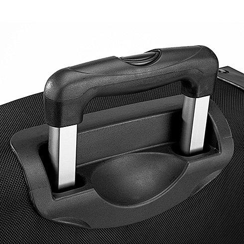 Quadra , Borsone  nero nero Capacité : 65 litres  - Dimensions : environ 65 x 36 x 33 cm