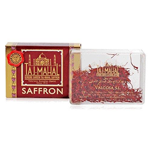 1g Pure Spanish Grade 1 Saffron Threads Taj Mahal Saffron by Taj Mahal Saffron