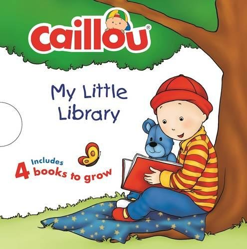Toddler Essentials 5 Books about Growing Caillou