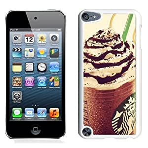 Customized$Unique Ipod Touch 5 Case Design with Starbucks White Phone Case for Ipod Touch 5 5th Generation
