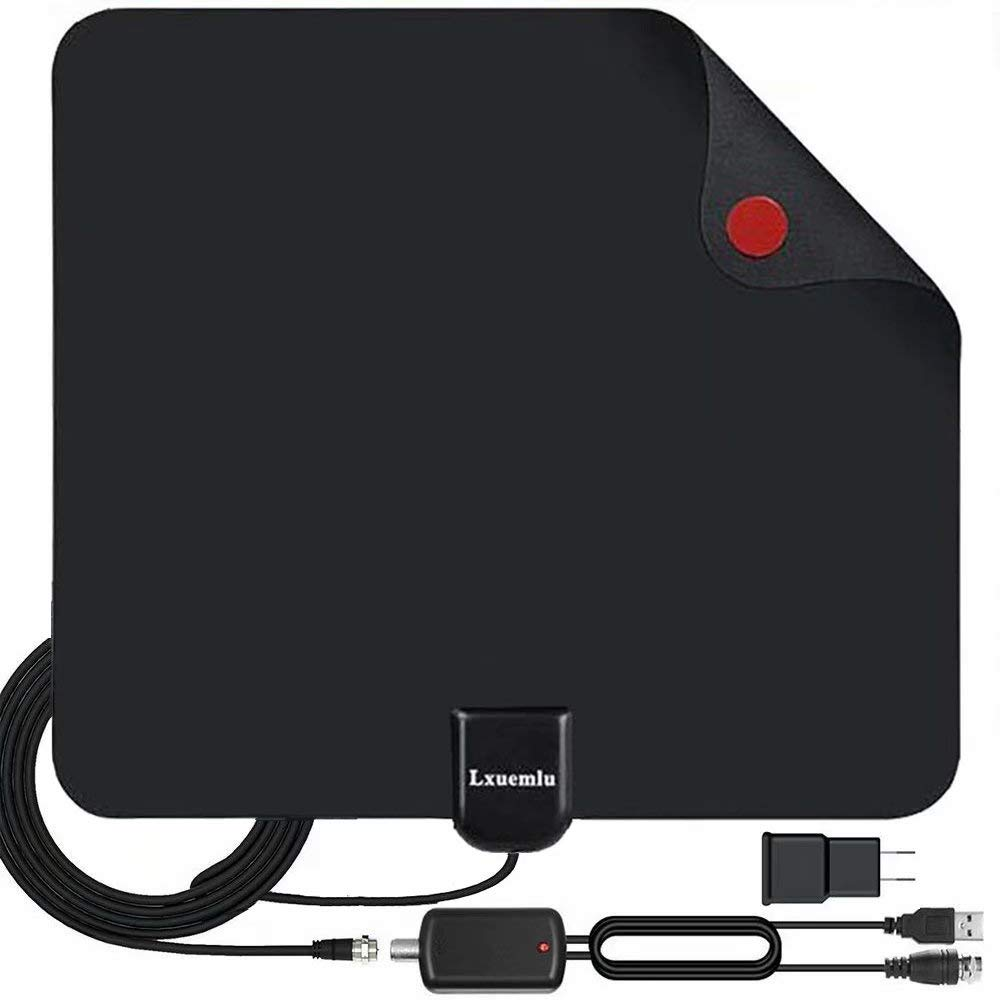 【2020 Upgraded】 HDTV Antenna Indoor Digital TV Antenna, 120 Miles Range HD Antenna with Amplifier Signal Booster and…