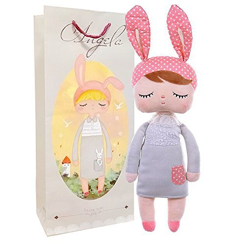 Me Too Angela Stuffed Bunny Baby Plush Rabbit Doll Toy Gifts for Girl 13