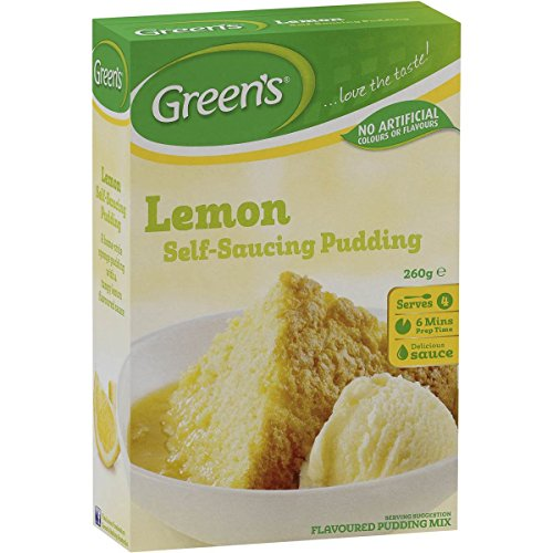 - Green's Lemon Self-Raising Pudding Mix 260g.