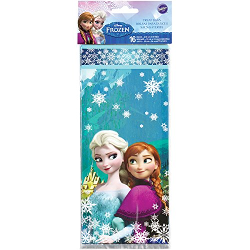 Wilton 1912-4500 Disney Frozen Treat (Snowflake Treat Bags)