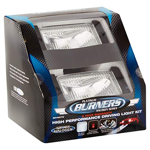 - Optronics Platinum Burners Series High Performance Driving Light Kit
