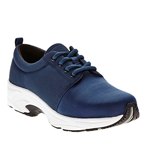 Trok Schoen Womens Excel Mesh, Rubber, Mode Sneakers Marine Mesh / Stretch