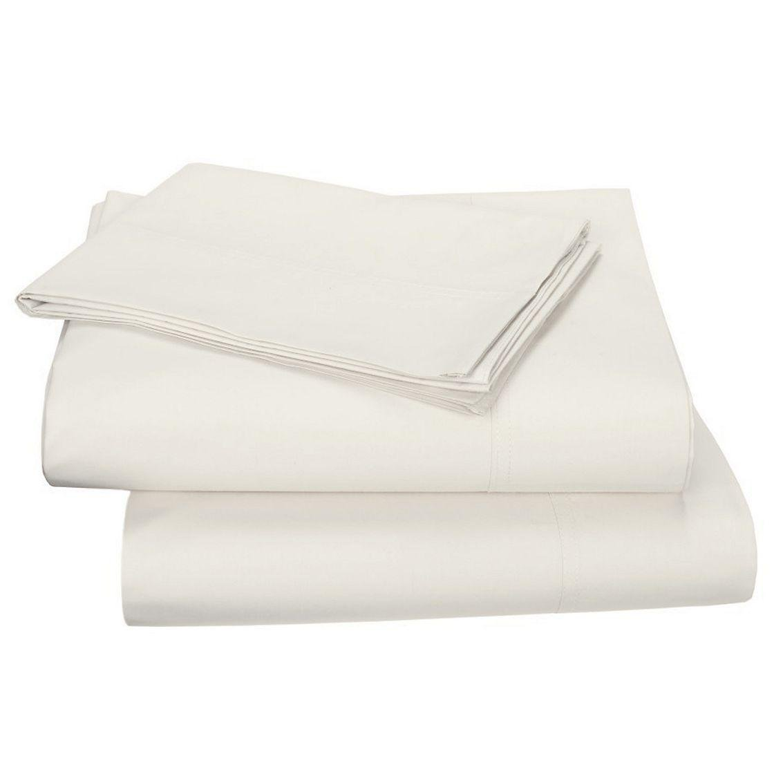 Ivory The Company Store Full Company Cotton Percale Duvet Cover
