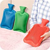 Max Pluss Rubber Bottle Cold & Hot Water Bag Body Heat Massage Pain Relaxing Treatment