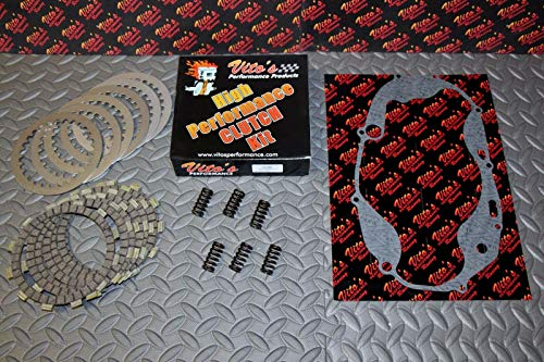 Performance Clutch - Vito's High Performance Clutch Fibers Kit Plates Yamaha Banshee/Cover Gasket