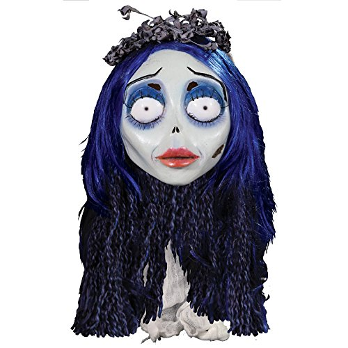 Trick or Treat Studios Men's Corpse Bride-Emily Mask, Multi, One Size -