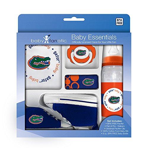 Multi Blusher - Baby Fanatic University of Florida Gators 5-piece Baby Gift Set, Team Colors, One Size