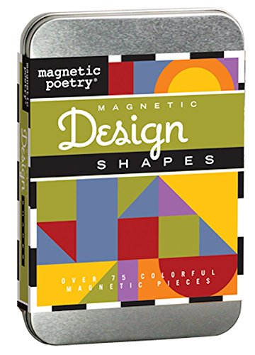 Magnetic Poetry - Design Shapes (Book Playboard)