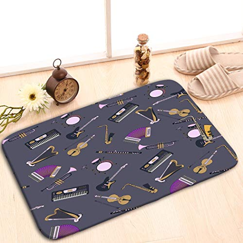 (zexuandiy Custom Indoor/Outdoor Decor Rug Doormat Machine-Washable 23.6
