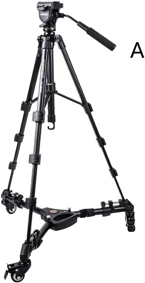 Color : A and Pulley ABS Resin Camera Bracket Tripod Travel Folding Tripod for Travel Out Photography with Carrying Bag Multi-Style Optional CJGXJZJ Portable Camera Bracket Light Aluminum Alloy