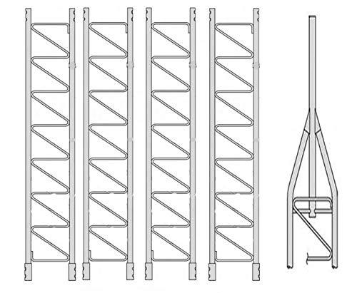 Antenna Tower Kit - ROHN 45G Series 50' Basic Tower Kit