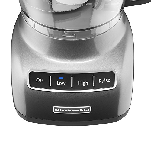 KitchenAid KFP0922CU 9-Cup Food Processor with Exact Slice System - Contour Silver by KitchenAid (Image #3)