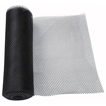 Amazon Com Sani Dry Bar Glass Shelf Liner Black Roll