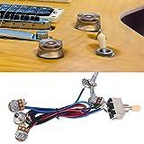 Alomejor Guitar Wiring Hareness 500K Pots 3 Way