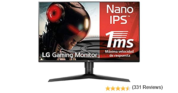 LG 27GL850-B - Monitor Gaming QHD de 68.6 cm/27