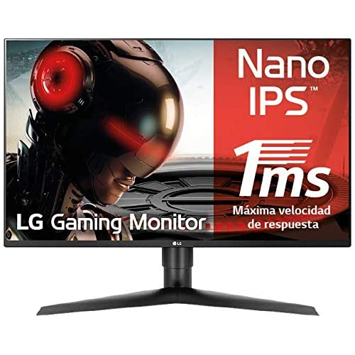 chollos oferta descuentos barato LG 27GL850 B Monitor Gaming QHD de 68 6 cm 27 con Panel NanoIPS 2560 x 1440 píxeles 16 9 1 ms GtG 144Hz G Sync compatible 350 cd m 1000 1 DCI P3 98 DP x1 HDMI x2 USB x3 Color Negro