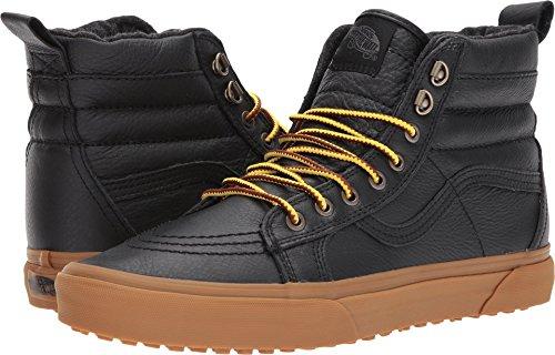 Vans Unisex SK8-Hi MTE (MTE) Black Leather/Gum 5 Women / 3.5 Men M US by Vans