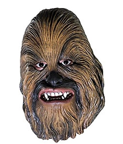 Chewbacca Kids Costumes (Rubie's Costume Co Chewbaca 3/4Vinyl Msk-Chd)