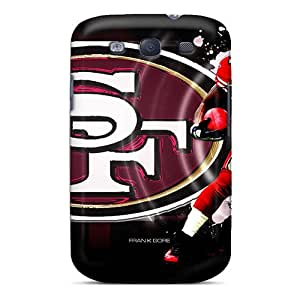 Snap-on San Francisco 49ers Case Cover Skin Compatible With Galaxy S3