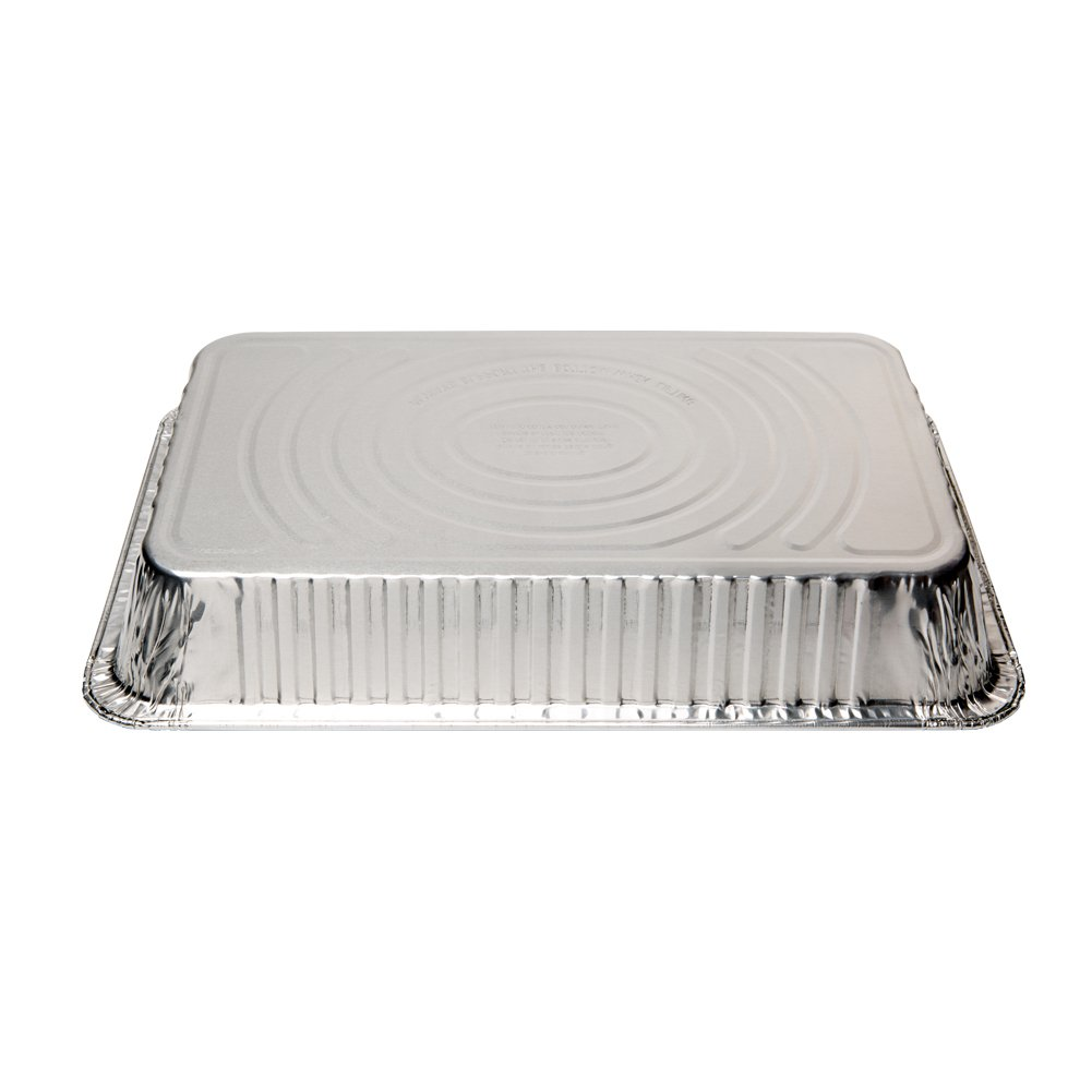 XIAFEI Disposable Aluminum Oblong Foil Steam Table Pans, Full Size Deep, Heavy Duty Roaster Pans (15 Pack) by XIAFEI (Image #5)