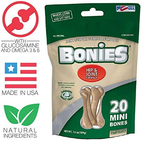 BONIES Joint Formula Multi-Pack MINI (20 Bones/ 7 oz)